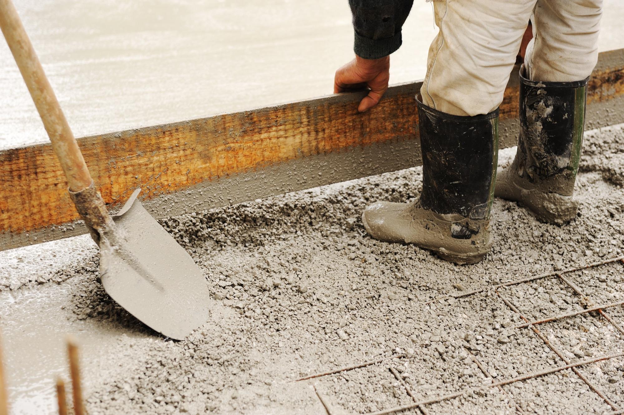 Pouring Concrete in La Porte Texas