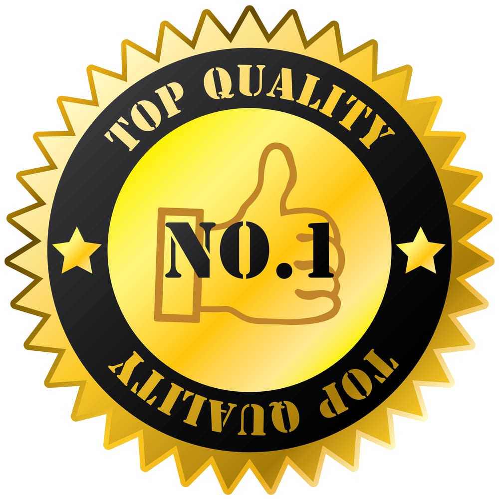 Image of a Top Quality badge