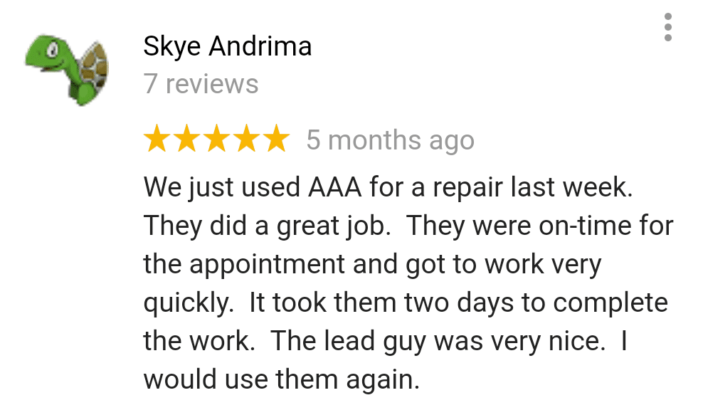 AAA Foundation Repair Review 3